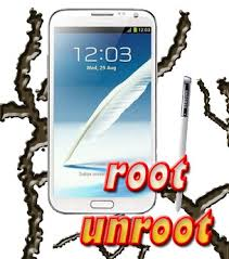 root unroot Note 2
