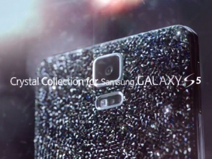 Crystal Galaxy S5