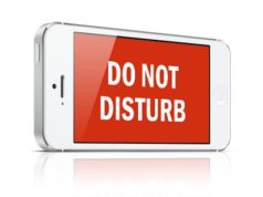 Do Not Disturb Mode