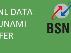 bsnl data tsunami offer
