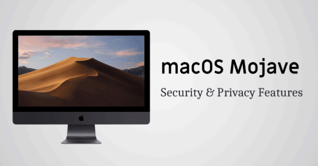apple macos mojave