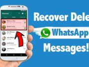deleted messages in whatsapp